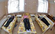 Беременные женщины в больнице. Архивное фото