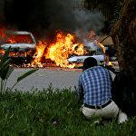 Взрыв рядом с отелем в Найроби