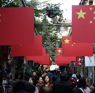 Шанхай шаары. Архивдик сүрөт