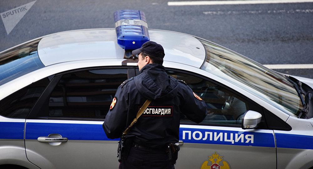 Сотрудник правоохранительных органов России. Архивное фото