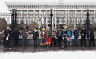 Представление бишкекского цирка у Жогорку Кенеша