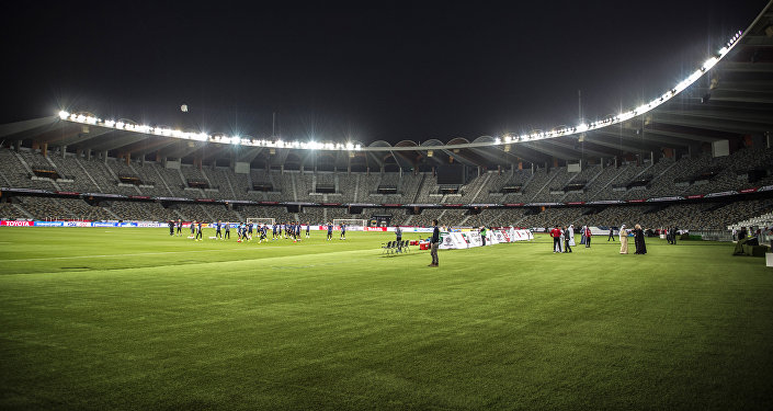 Стадион Zayed Sports City в Абу-Даби