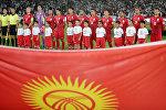 Игроки сборной Кыргызстана по футболу. Архивное фото