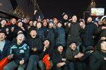 Кыргызстан! Кыргызстан! Как болельщики смотрели матч против ОАЭ — видео