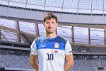 Нападающий сборной Кыргызстана по футболу Мирлан Мурзаев