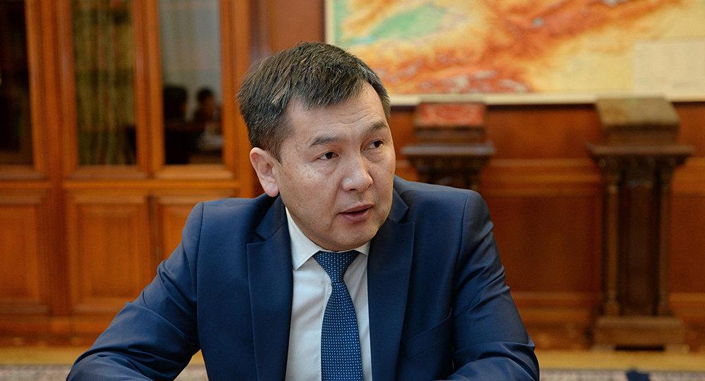 УКМК жетекчиси Идрис Кадыркулов. Архивдик сүрөт