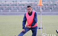 Полузащитник сборной Кыргызстана по футболу Турсунали Рустамов. Архивное фото
