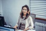 Пресс-секретарь информационного агентства и радио Sputnik Кыргызстан Нуржан Найзабекова