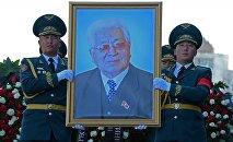 Митинг-реквием по герою Кыргызской Республики, государственному деятелю Турдакуну Усубалиеву