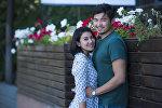 Супруги, предприниматель Ислам Сманов и модель Зарема Жунусова