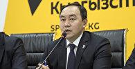 Заведующий отделом транспорта мэрии Бишкека Кубан Джусупов. Архивное фото