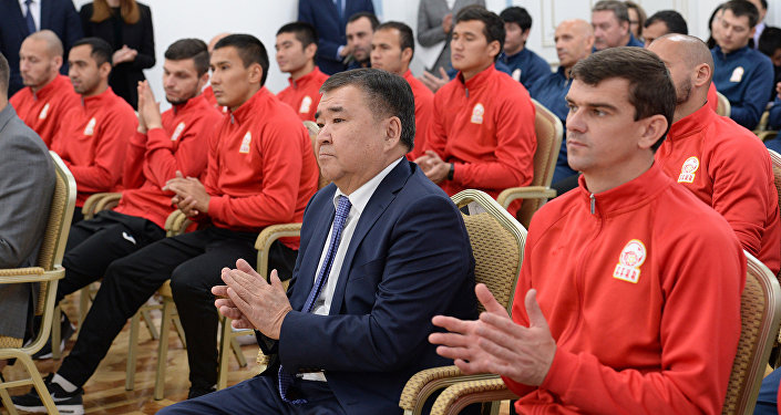 Вручение госнаград игрокам и тренерам Национальной сборной КР по футболу