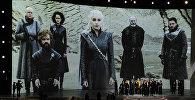 Актеры Игры престолов и члены съемочной группы. Архивное фото