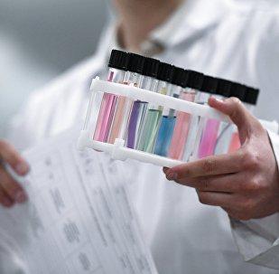Антидопинг лабораториясы. Архивдик сүрөт