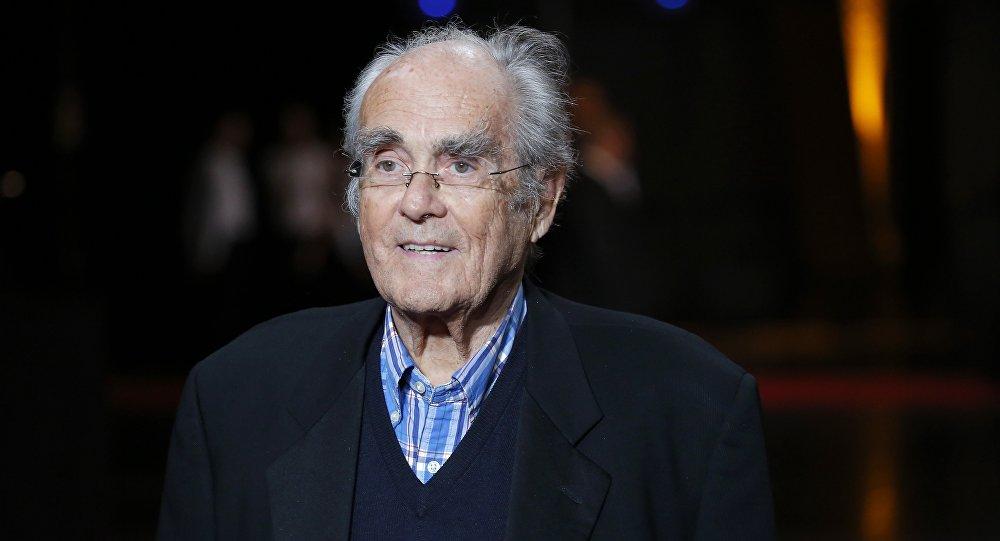Известный французский композитор и дирижер Мишель Легран