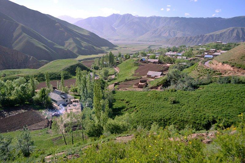 Село Шибе в Чон-Алайском районе Оша