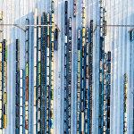 Москвадагы Бекасово-Сортировочное станциясындагы жүк ташуучу поезддер