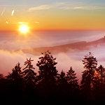 Восход солнца в Германии