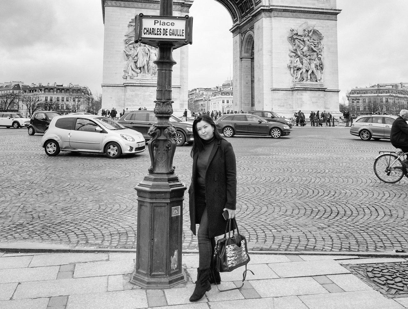 Менеджер сети магазинов в Тулузе (Франция) Ширин Джунусова