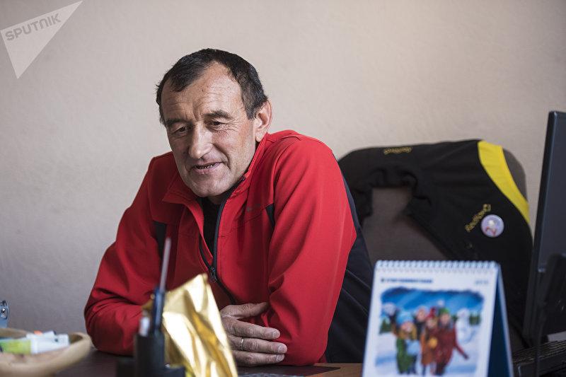 Альпинист, один из основателей туристической компании Дмитрий Греков во время интервью журналисту Sputnik Кыргызстан