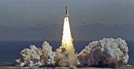 Старт американского космического корабля Челленджер. 28 января 1986 год