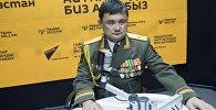 Генерал-майор запаса, экс-министр обороны КР, кавалер ордена Красной Звезды Таалайбек Омуралиев
