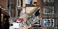Взрыв привел к обрушению фасадов нескольких домов в Гааге на западе Нидерландов