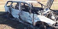Правоохранители задержали троих подозреваемых в угоне и сожжении двух автомобилей марок Honda Odyssey