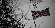 Флаг Великобритании. Архивное фото