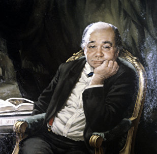 Репродукция картины Портрет Евгения Леонова. Архивное фото