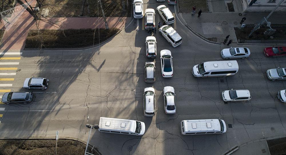 Бишкектин жолу. Архивдик сүрөт