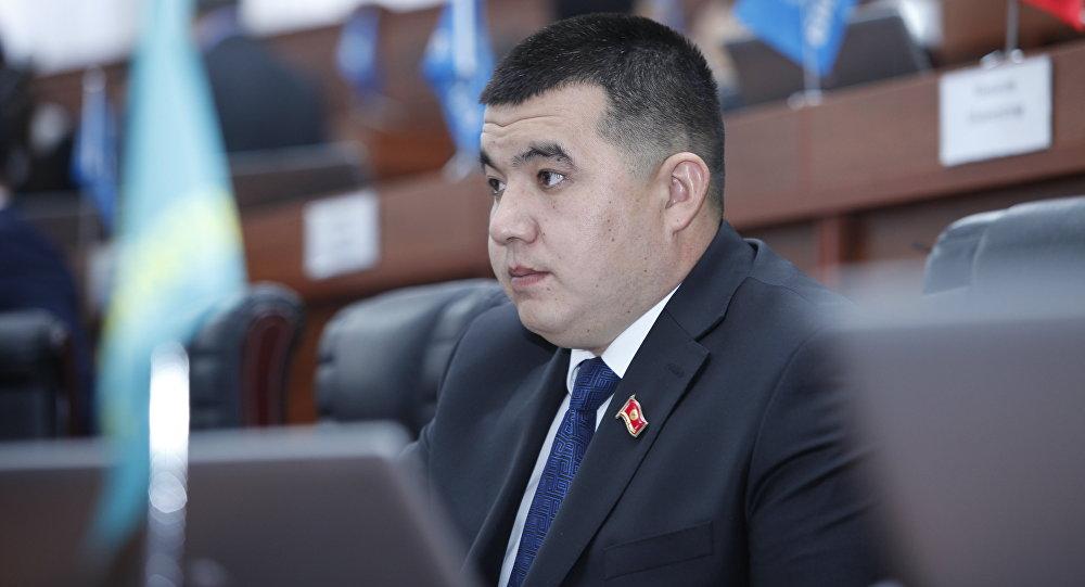 Депутат ЖК Урмат Самаев. Архивное фото