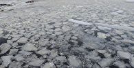 Лед на реке. Архивное фото