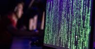 Экран ноутбука демонстрирует случай хакерской атаки. Архивное фото