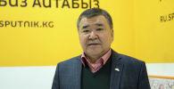 Дордой ассоциациясынын президенти Аскар Салымбеков. Архивдик сүрөт