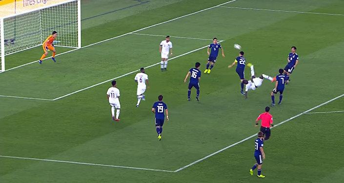 Гол через себя — лучшие моменты финала Кубка Азии по футболу. Видео
