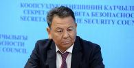 Күч органдарынын координатору Өмүрбек Суваналиев. Архив