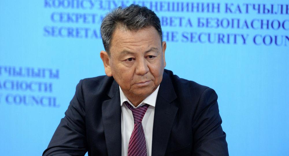 Полномочный представитель правительства в Баткенской области Омурбек Суваналиев. Архивное фото