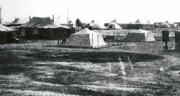 201-дивизиянын 149-полку жайгашкан шаарча. Кундуз провинциясы. 1980-жыл