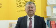 Улуттук онкология жана гемотология борборунун жетекчиси Эрнис Тилеков