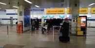 Аэропорт Манас возобновляет работу после сообщения о взрывном устройстве