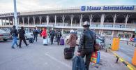 Аэропорт Манас. Архивдик сүрөт