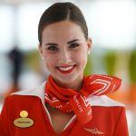 Бортпроводник авиакомпании Аэрофлот Анастасия Белоусова