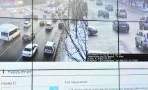 Камеры Безопасного города в Бишкеке. Архивное фото