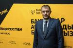 Тренер сборной Кыргызстана по футболу Александр Крестинин