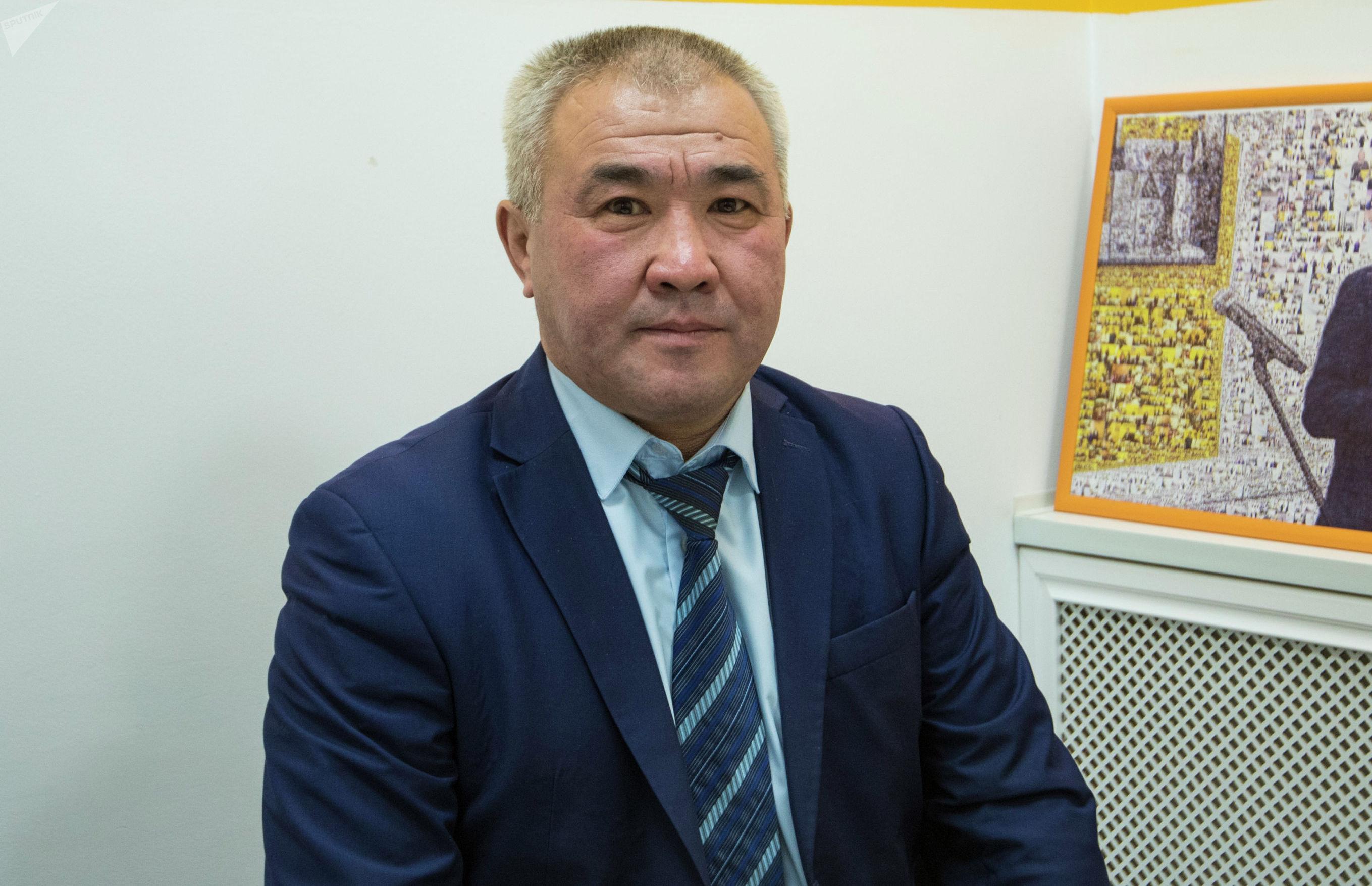 Директор Дирекции по развитию школьного и студенческого спорта Эркин Абдылдаев