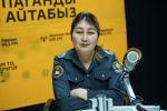 Токмок ШИИББдин өспүрүмдөр менен иштөө инспекциясынын ага тескөөчүсү Гүлзат Асаналиева