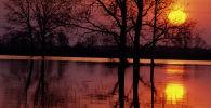Вечерний пейзаж. Архивное фото