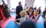 Детское отделение Национального центра онкологии и гематологии в Бишкеке