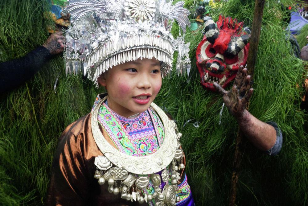 Фестиваль Мангхао в Китае